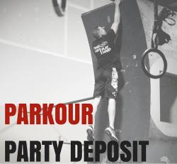 Parkour/Ninja Warrior Party Deposit