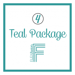 4 Class Teal Membership - 12 Month (Billed Monthly)
