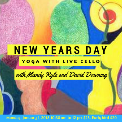 New Year's Day Yoga with Live cello - For a Guest
