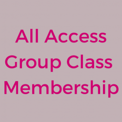 All Access Membership: 12 Months/4 Classes