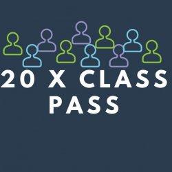 20 visit class pass