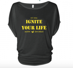 iGnite Your Life Circle Flowy Top