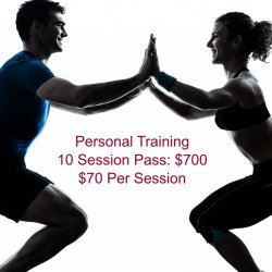 Personal Training /Private / 10 Sessions