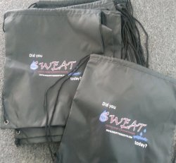 SWEAT String Bag