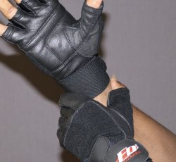 Wrist Wrap Training Gloves