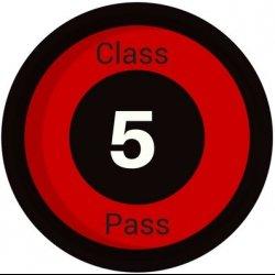 Pass - 5 Yoga Classes (2 Mths Exp)