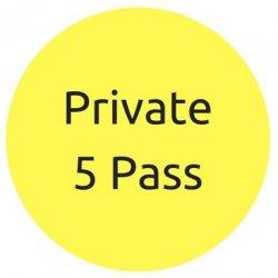 5 Classes Private Yoga