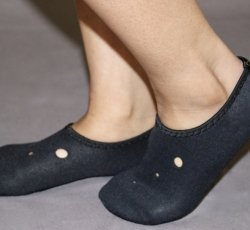 """Thermo Footies Black L/XL (10"""" - 11"""")"""