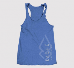 Laché Racer-back Tank - Blue