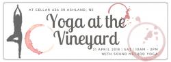 Yoga at the Vineyard - half day retreat