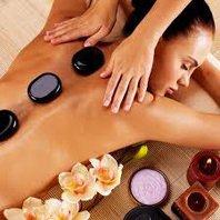 60 min Hot Stone Couples Massage