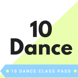 10 Class Pass - Dance & Tumble