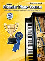 Alfred's Premier Piano Performance Book 1B with CD