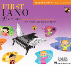 Lesson Book C - My First Piano Adventures for the Young Beginner w/CD