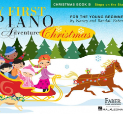 Christmas Book B - My First Piano Adventures for the Young Beginner