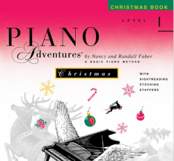 Level 1 Christmas Book - Piano Adventures