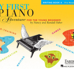 Writing Book A - My First Piano Adventures for the Young Beginner