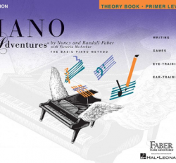 Primer Level Theory Book - Piano Adventures