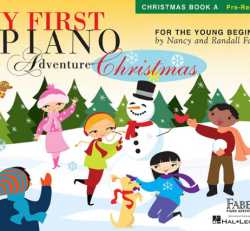 Christmas Book A - My First Piano Adventures for the Young Beginner