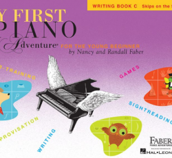 Writing Book C - My First Piano Adventures for the Young Beginner