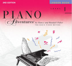 Level 1 Lesson Book - Piano Adventures