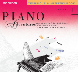 Level 1 Technique & Artistry Book - Piano Adventures