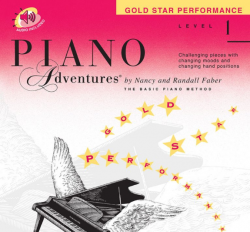 Level 1 Gold Star Performance - Piano Adventures