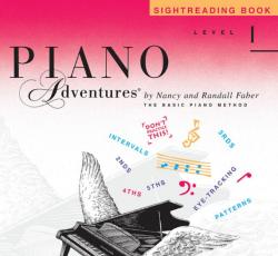 Level 1 Sightreading Book - Piano Adventures
