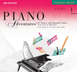 Level 1 Theory Book - Piano Adventures