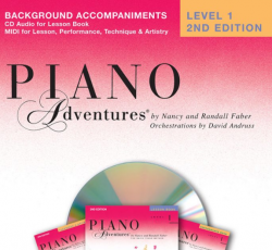 Level 1 Background Accompaniment CD - Piano Adventures