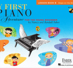 Lesson Book B - My First Piano Adventures for the Young Beginner w/CD