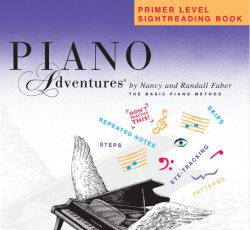 Primer Level Sightreading Book - Piano Adventures