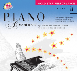 Level 2A Gold Star Performance - Piano Adventures