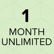 One Month Unlimited Yoga Classes (one time payment)