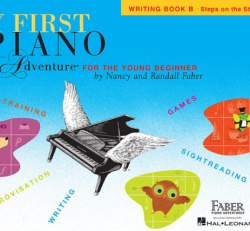 Writing Book B - My First Piano Adventures for the Young Beginner