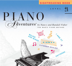 Level 2A Sightreading Book - Piano Adventures