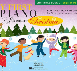 Christmas Book C - My First Piano Adventures for the Young Beginner