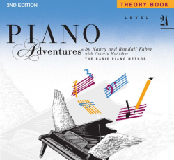 Level 2A Theory Book - Piano Adventures
