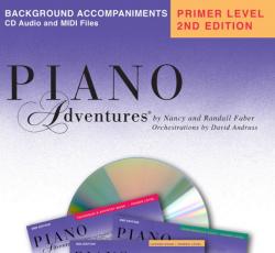 Primer Level Background Accompaniment CD - Piano Adventures