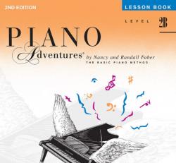 Level 2B Lesson Book - Piano Adventures