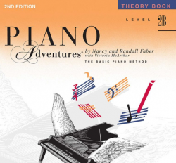 Level 2B Theory Book - Piano Adventures