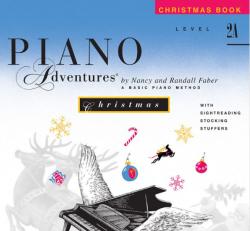 Level 2A Christmas Book - Piano Adventures