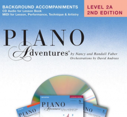 Level 2A Background Accompaniment CD - Piano Adventures
