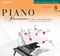 Level 2B Performance Book - Piano Adventures