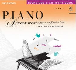 Level 2B Technique & Artistry Book - Piano Adventures