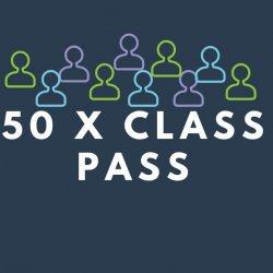 50 visit class pass