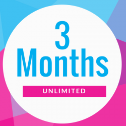 3 Month Unlimited VIP