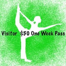 Visitor $50 One Week Pass