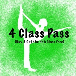 4 class pass Buy 3 get the 4th class free