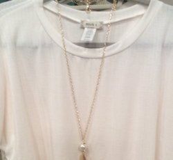 Cream dolman top